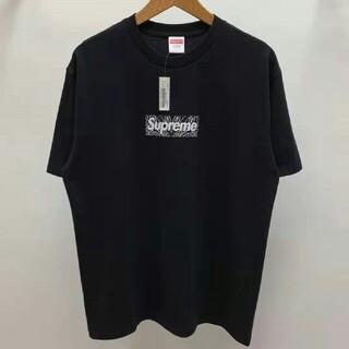 ステューシー(STUSSY)の希少  19FW BANDANA BOX LOGO TEE(Tシャツ/カットソー(半袖/袖なし))