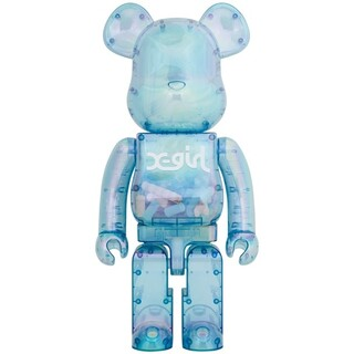 MEDICOM TOY - 未開封 BE@RBRICK X-girl 2021 1000% ベアブリック