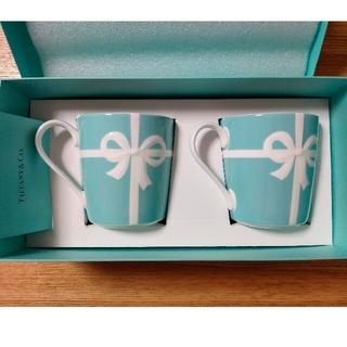 Tiffany & Co. - ティファニー マグカップ 2個セット リボン