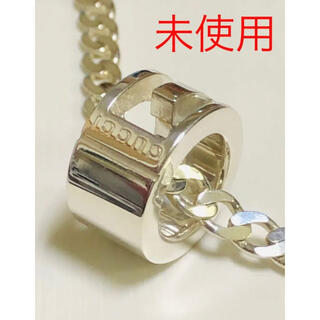 グッチ(Gucci)のGUCCI グッチ 正規品 シルバー G リング ネックレス 新品 未使用 美品(ネックレス)
