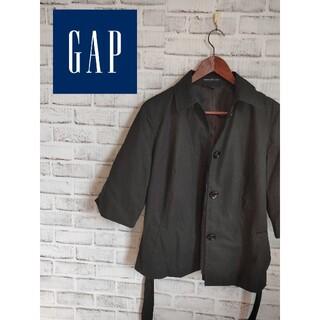 ギャップ(GAP)のGAP 裏地付き7部袖シャツJK(テーラードジャケット)