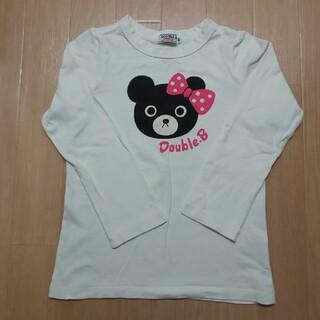 ダブルビー(DOUBLE.B)のミキハウス DOUBLE.B  used  ロンT(Tシャツ/カットソー)