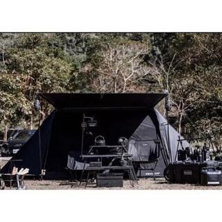 DOPPELGANGER - ムラコポール2本おまけ付 グラウンドカバー リトルハウス パップテント ブラック