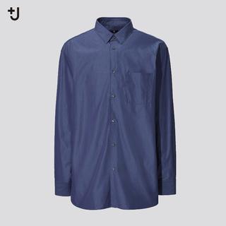 UNIQLO - UNIQLO ジルサンダー +J スーピマコットンオーバーサイズシャツ