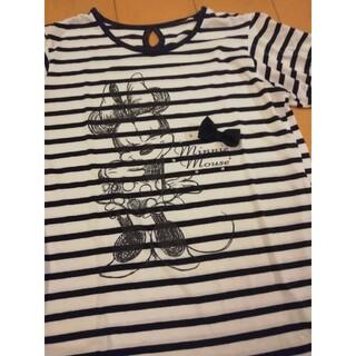 ディズニー(Disney)のディズニー ミニーマウス T シャツ トップス M 半袖(Tシャツ(半袖/袖なし))