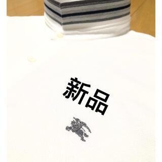 バーバリー(BURBERRY)の新品【日本製】バーバリーロンドン ポロシャツ LL(ポロシャツ)