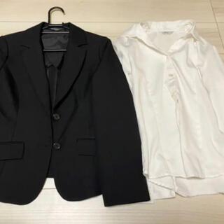 女性用 スーツ+白シャツ (スーツ)