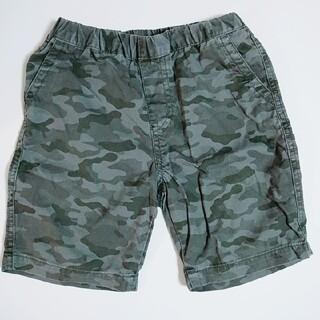 ユニクロ(UNIQLO)のキッズ 幼児 110 半ズボン 迷彩(パンツ/スパッツ)