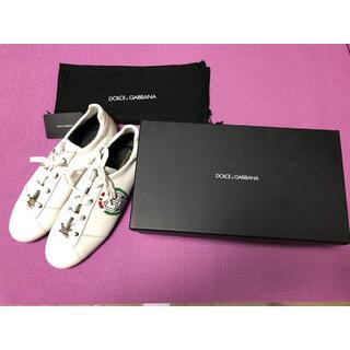 DOLCE&GABBANA - Dolce & Gabbana白スニーカー28cm