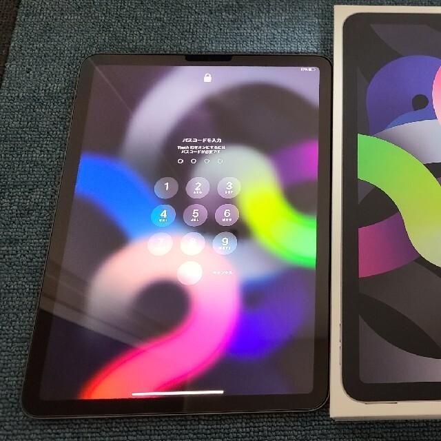 iPad(アイパッド)のiPad Air4 10.9インチ 64GB Wi-Fi版 スペースグレー スマホ/家電/カメラのPC/タブレット(タブレット)の商品写真