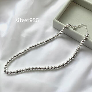 TODAYFUL - silver925  ナバホパール ボールチェーンネックレス