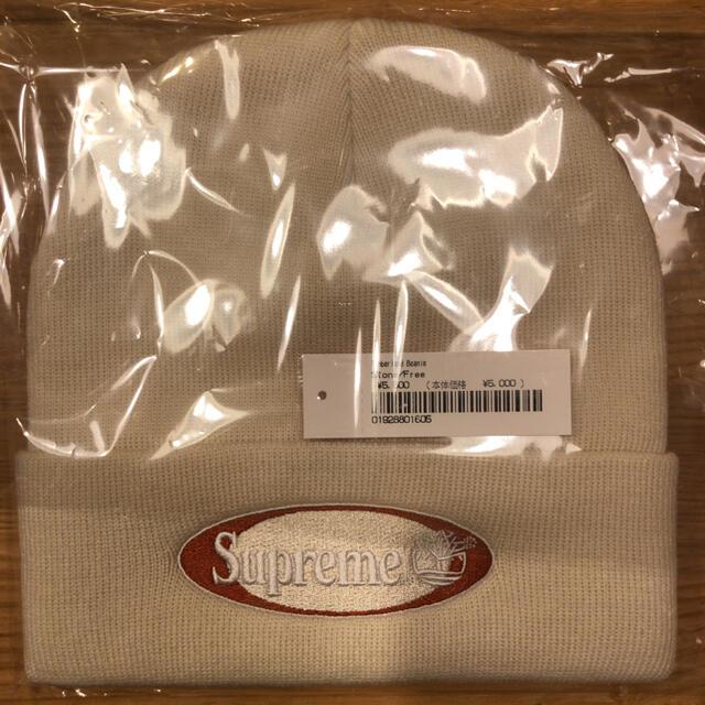 Supreme(シュプリーム)のSupreme timberland beanie 白 ビーニー メンズの帽子(ニット帽/ビーニー)の商品写真