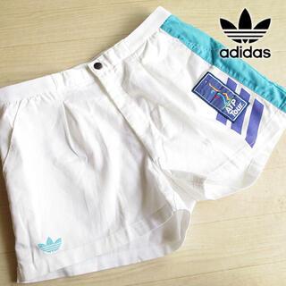 アディダス(adidas)の激レア 超美品 Oサイズ アディダス ATP  ショートパンツ 白(ウェア)