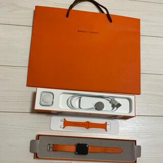 Hermes - Apple Watch 6 エルメス  40mm オレンジ