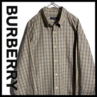 バーバリー(BURBERRY)の値下げ交渉あり‼︎ バーバリー ノバチェックシャツ 1093(シャツ)