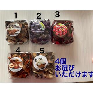 イケア(IKEA)のIKEA DOFTA  ポプリ 4袋セット!!(アロマグッズ)