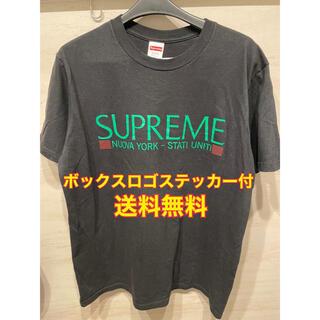 シュプリーム(Supreme)の【即納】supreme Nuova York Tee ブラック Mサイズ(Tシャツ/カットソー(半袖/袖なし))