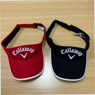 Callaway - ゴルフCallawayキャロウェイサンバイザー2点セット