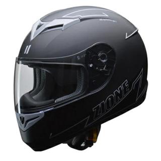 リード工業(LEAD)バイク用フルフェイスヘルメット ZIONEグレー L(ヘルメット/シールド)