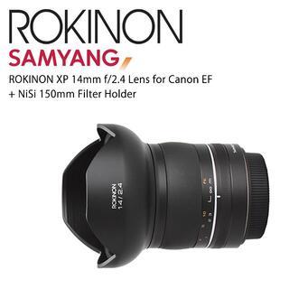 キヤノン(Canon)のサムヤン XP 14mm F2.4(欧米版)フィルターホルダーおまけ(レンズ(単焦点))