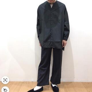コモリ(COMOLI)のGALLEGO DESPORTES ラージバンドカラーシャツ(シャツ)