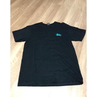 ステューシー(STUSSY)のstussy黒 半袖Tシャツ(Tシャツ/カットソー(半袖/袖なし))