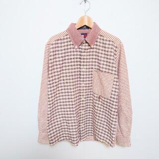 トミーヒルフィガー(TOMMY HILFIGER)の90年代 TOMMY HILFIGER トミーヒルフィガー マルチチェックシャツ(シャツ)