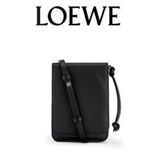 ロエベ(LOEWE)のLOEWE/フラットガセットボディバッグ/新品未使用(ボディーバッグ)