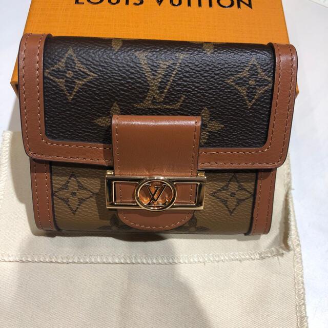 LOUIS VUITTON(ルイヴィトン)のLOUIS VUITTON モノグラム ドーフィーヌ コンパクト 折り財布 レディースのファッション小物(財布)の商品写真