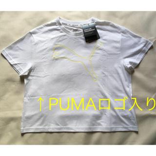 プーマ(PUMA)のPUMA ロゴ Tシャツ(Tシャツ(半袖/袖なし))