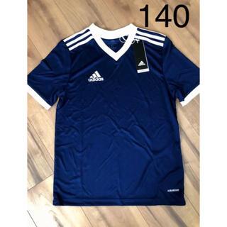 アディダス(adidas)のアディダス ジュニア 140 新品 tシャツ  半袖 ドライ サッカー 運動会(Tシャツ/カットソー)
