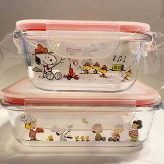 Pyrex - ☆新品☆未使用☆パイレックス スヌーピー ガラス保存容器 2個セット コストコ