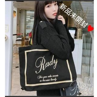 Rady - 【新品未開封】フレームRadyちゃんトート ブラック×ゴールド