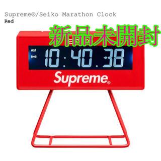 シュプリーム(Supreme)のSupreme Seiko Marathon Clock Red (SS21) (置時計)