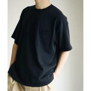 コモリ(COMOLI)の【新品未使用】HERILL(ヘリル)Cotton Pocket T-shirt(Tシャツ/カットソー(半袖/袖なし))