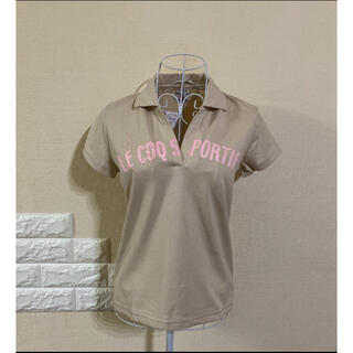 ルコックスポルティフ(le coq sportif)の【新品】 ルコック ポロシャツ  L(ウエア)