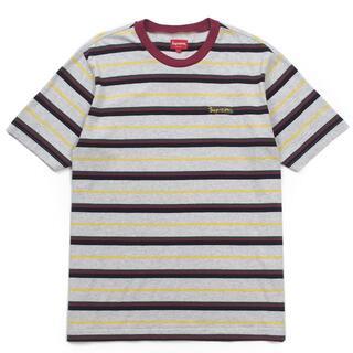 シュプリーム(Supreme)の18ss Supreme - Heather Stripe Top ボーダーtシ(Tシャツ/カットソー(半袖/袖なし))