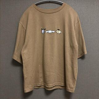 シマムラ(しまむら)の☆サンリオキャラクターズ☆ポチャッコ シナモロール ポムポムプリン Tシャツ☆(Tシャツ(半袖/袖なし))