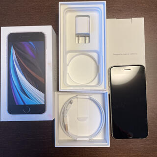 iPhone - iPhone SE 第2世代 (SE2) ホワイト 128GB SIMフリー