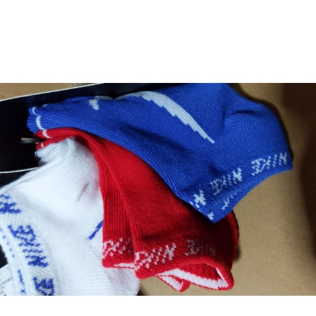 NIKE(ナイキ)のナイキ ソックス 17〜21cm キッズ/ベビー/マタニティのこども用ファッション小物(靴下/タイツ)の商品写真