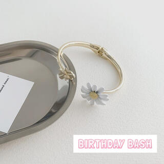 BIRTHDAYBASH  フラワー ブレスレット オルチャン レディース 韓国