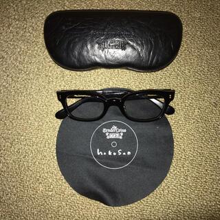 テンダーロイン(TENDERLOIN)のTENDERLOINテンダーロイン×白山眼鏡店 IN THE WIND ブラック(サングラス/メガネ)