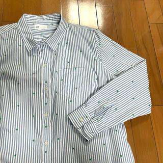 ギャップ(GAP)のGAP ストライプシャツ XL(シャツ)