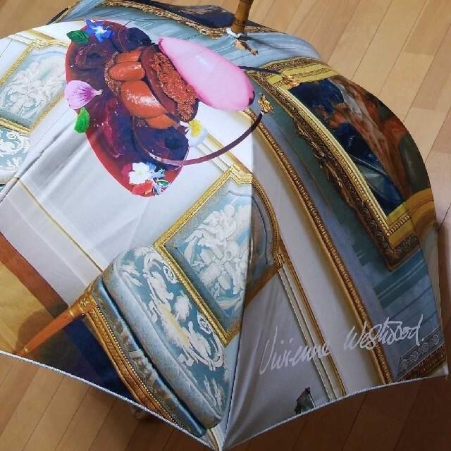 Vivienne Westwood(ヴィヴィアンウエストウッド)のヴィヴィアン Vivienne Westwood 傘 長傘 レア レディースのファッション小物(傘)の商品写真