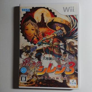 ウィー(Wii)の不思議のダンジョン 風来のシレン3 〜からくり屋敷の眠り姫〜 Wii(家庭用ゲームソフト)