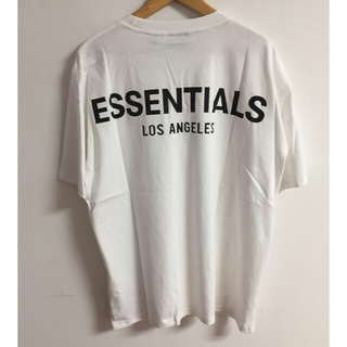 FEAR OF GOD - サイズXL黒白二枚セット反射光りfogessentials Tシャツ