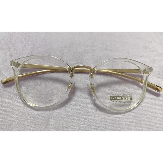 mystic(ミスティック)のクリアメガネ メンズのファッション小物(サングラス/メガネ)の商品写真