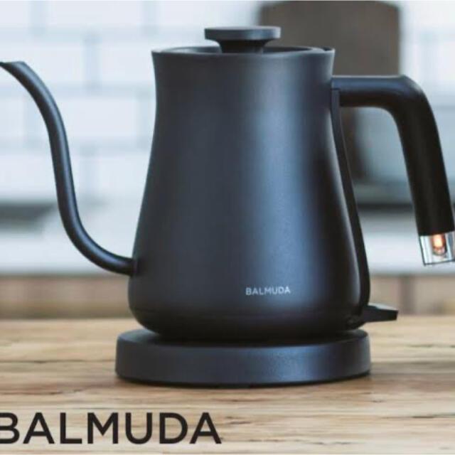 BALMUDA(バルミューダ)の未使用品 BALMUDA The Pot バルミューダ ケトル 黒 ポット スマホ/家電/カメラの生活家電(電気ケトル)の商品写真