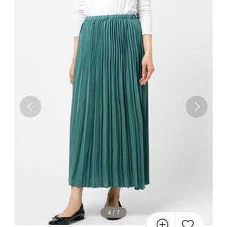 サマンサモスモス(SM2)のSM2 ランダムプリーツスカート(ロングスカート)