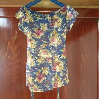 ムルーア(MURUA)のムルーア 花柄ブラウス(シャツ/ブラウス(半袖/袖なし))